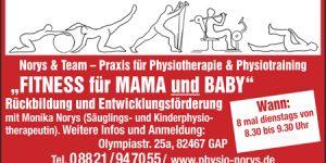 Fitness für Mama und Baby