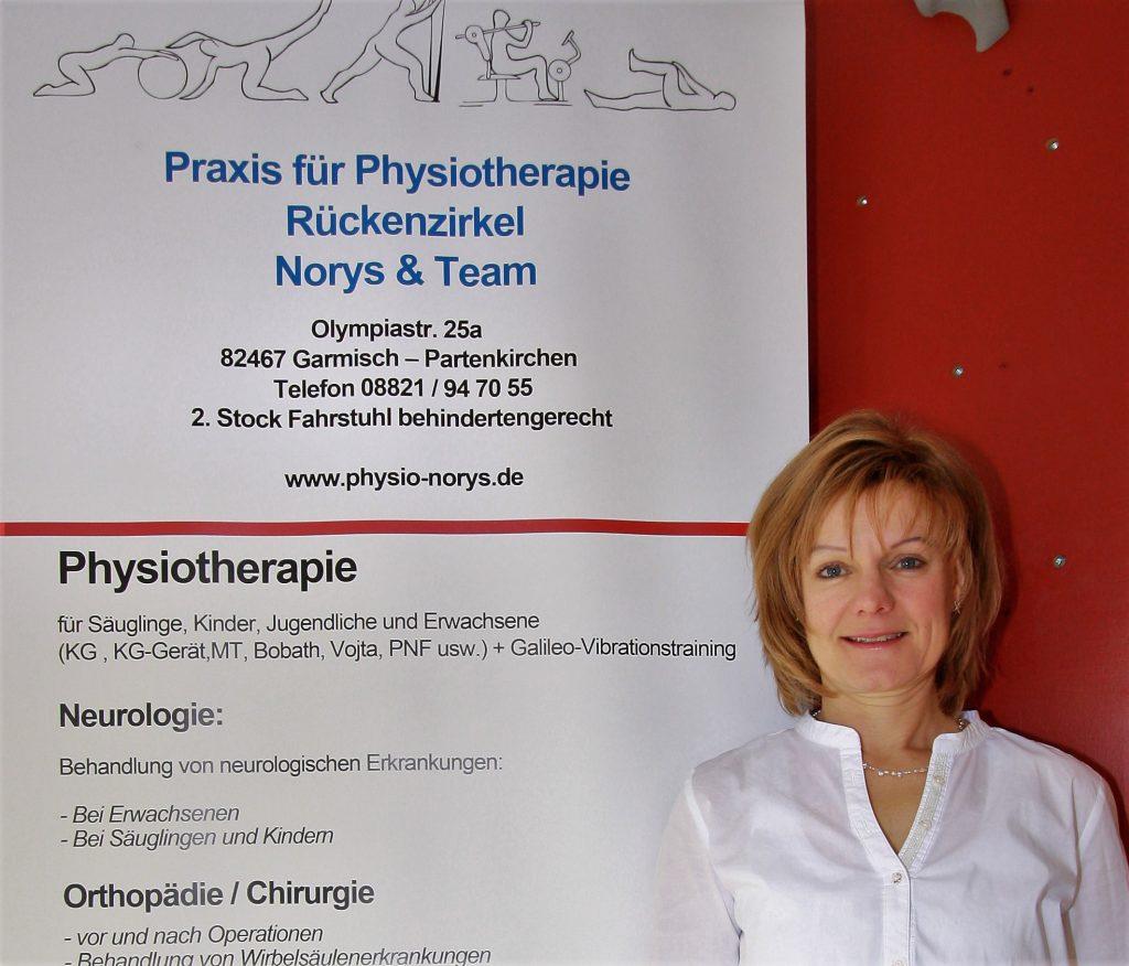 Monika Norys, Kinderphysiotherapeutin und Gymnastiklehrerin