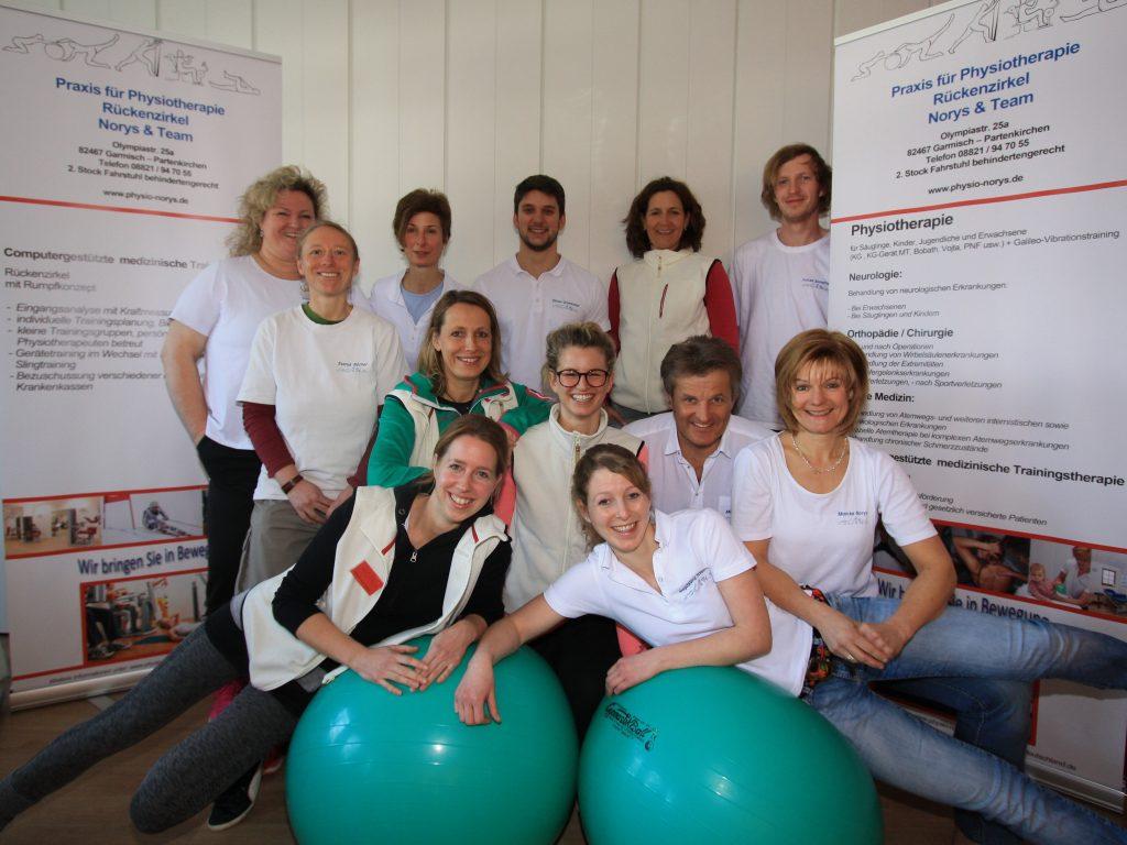 Physiotherapie Krankengymnastic Garmisch