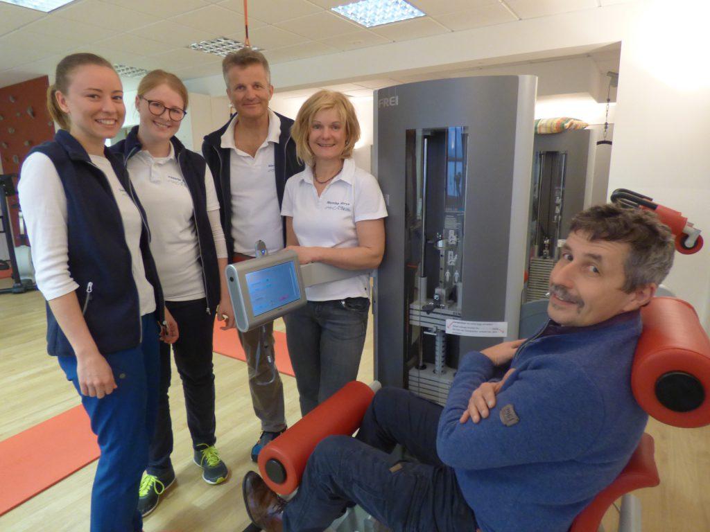 Tag der Rückengesundheit bei Physio Norys & Team.